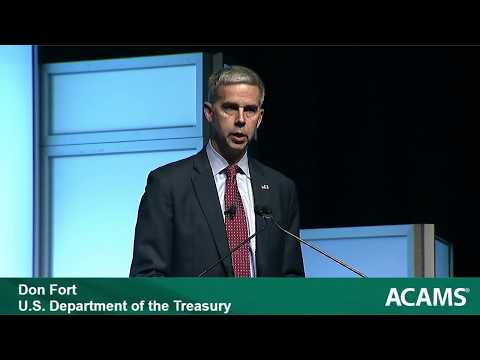 ACAMS Anti-Money Laundering Presentation – Don Fort, U.S. Internal Revenue Service