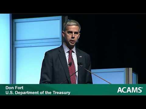 ACAMS Anti-Money Laundering Presentation – Don Fort, U.S. Internal Revenue Service