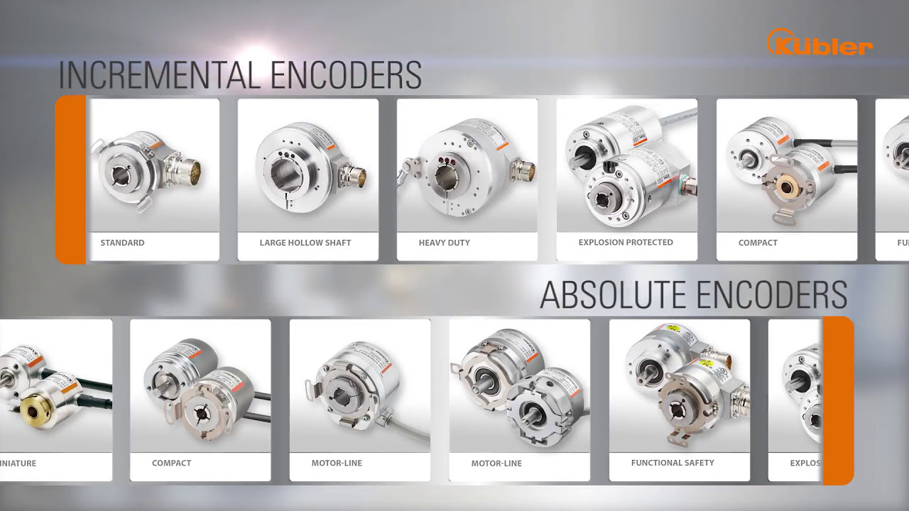 Kubler Encoder Wiring Diagram Dometic Group Encoders For Compact Motor Design Youtube