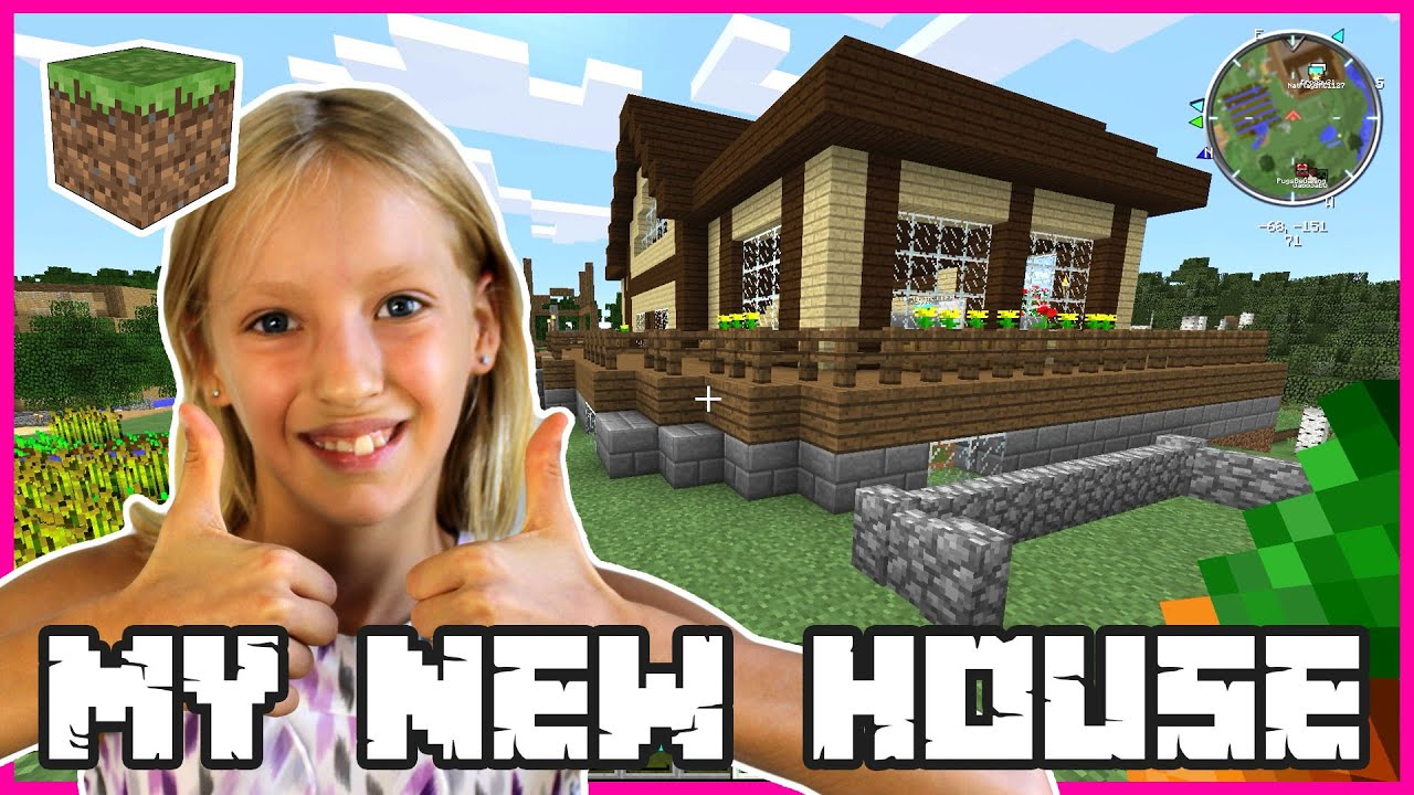 My new house minecraft youtube for My new home