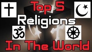 Top 5 Religions By Population In The World | Population Shares | Religions Signs | Information 2.0