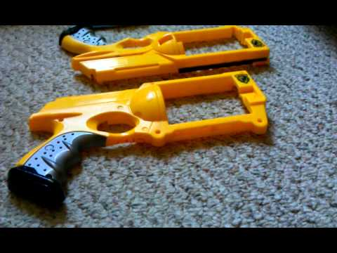 how to spray paint a nerf gun part 5 youtube. Black Bedroom Furniture Sets. Home Design Ideas