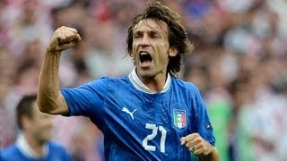 Andrea Pirlo free kick not enough as Italy draw with Croatia