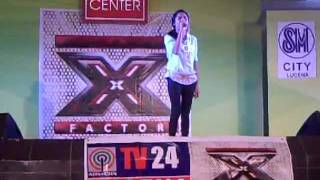 X Factor Philippines Audition - Camille Amparo - Lucena City