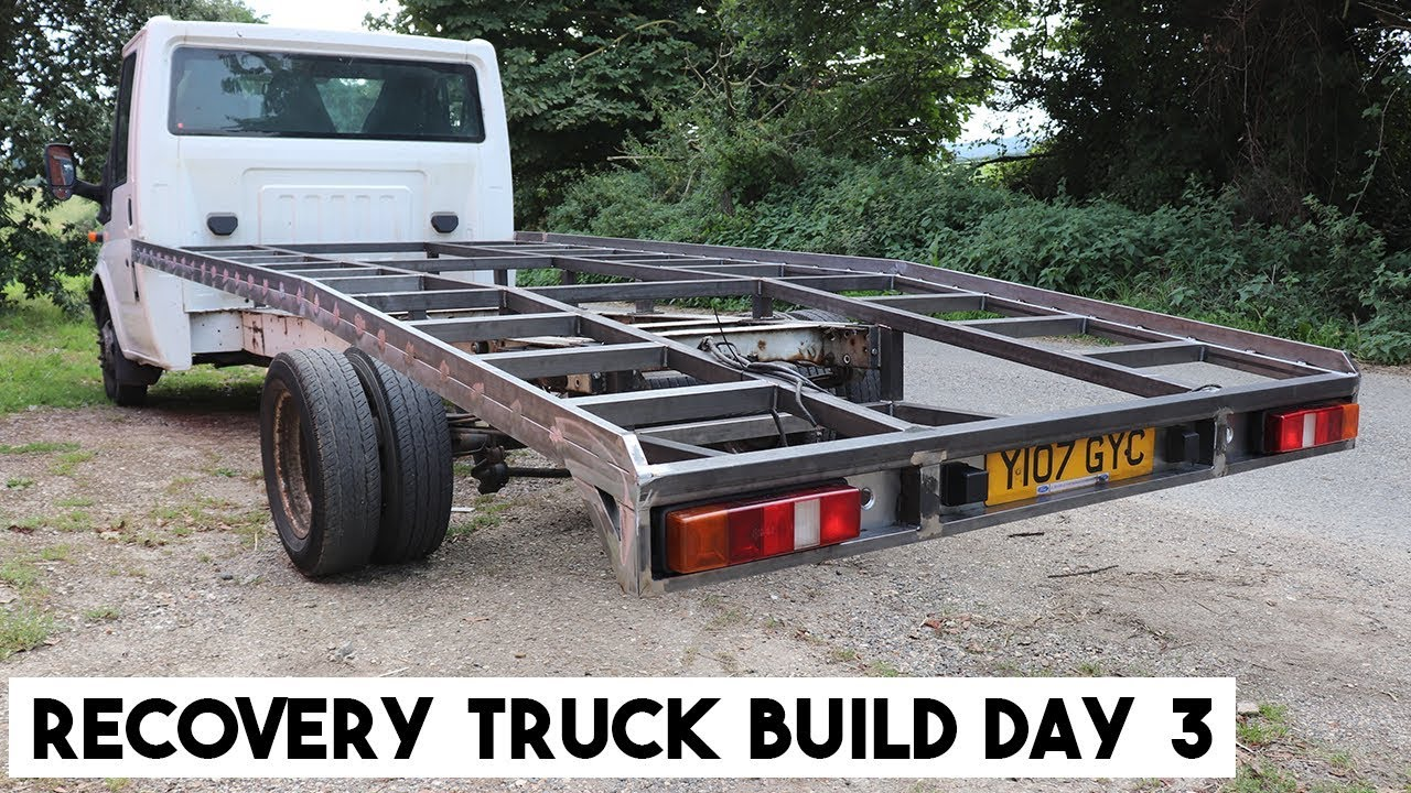 Build A Truck >> Transit Recovery Truck Build Day 3 How To Build A Ramp Truck