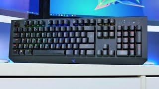 Razer Blackwidow X Chroma Gaming Keyboard Review (4K)