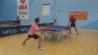 Triangle Table Tennis - 2018 June Open U2100 Final - Tony Ma (1912) vs Cameron Smith (1972)