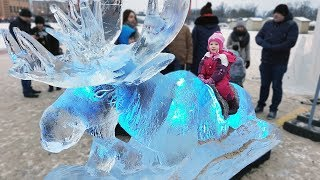 20th International Ice Sculpture Festival 2018 Jelgava | 20 Фестиваль ледовых скульптур, Елгава 2018