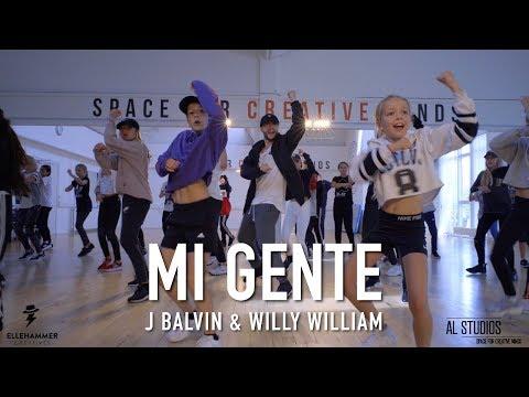 MI GENTE - J. BALVIN & WILLY WILLIAM // Tobias Ellehammer Choreography