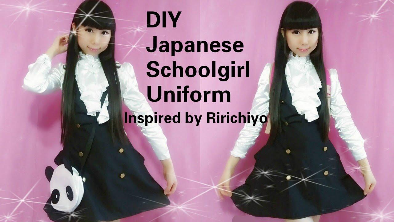 Cosplay diy kawaii japanese school uniform inspired by ririchiyo cosplay diy kawaii japanese school uniform inspired by ririchiyo youtube jeuxipadfo Images
