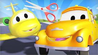 Эвакуатор Том - Самолёт малышка Пенни попала в беду в полёте! - детский мультфильм