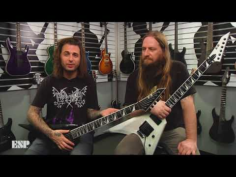 ESP Guitars: Darkest Hour on the ESP E-II Arrow
