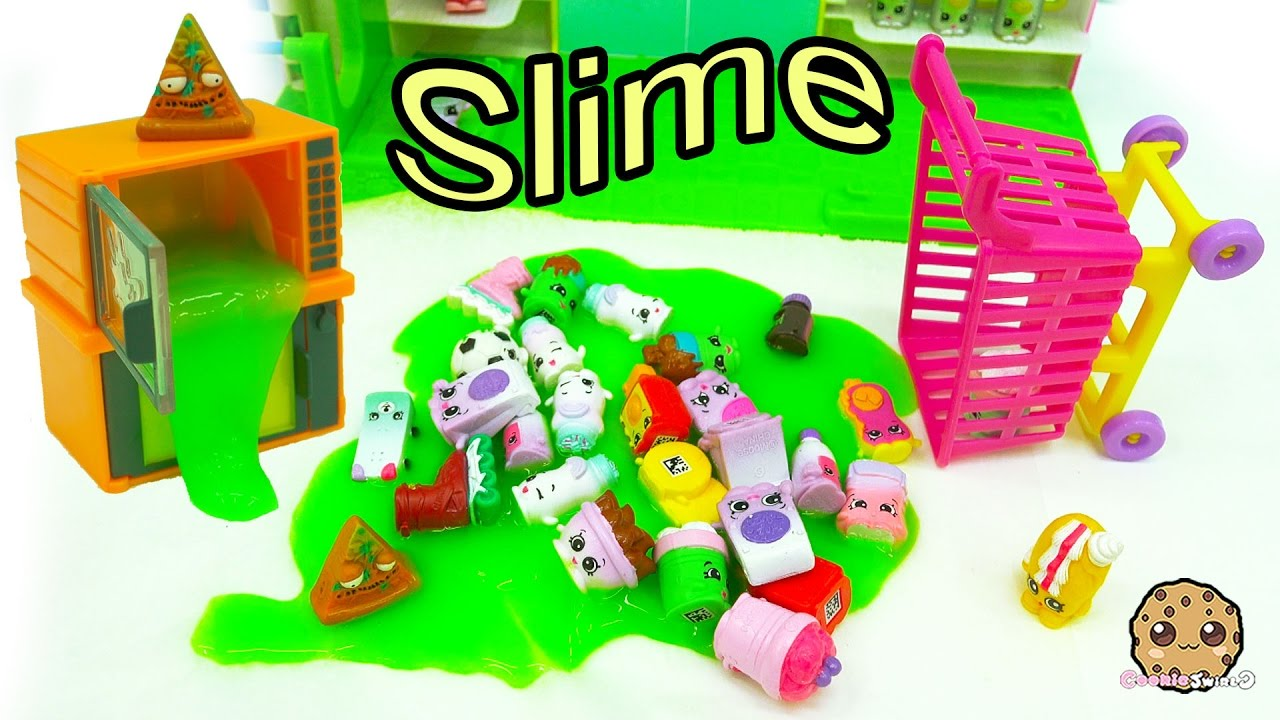 Broken Microwave Oozing Slime Amp Mess At Shopkins Small