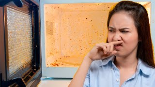 How to Get a Burnt Smell Out of a Microwave The Quick Way