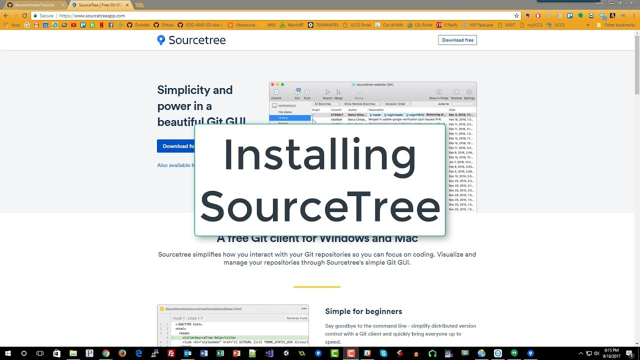 Github windows vs sourcetree