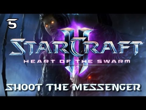"★ StarCraft II: Heart of the Swarm - Part 5 ""Shoot The Messenger"" [HD][PC]"