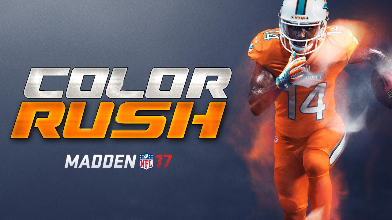various colors 1c36d fd970 COLOR RUSH JERSEYS COMING TO MUT 17! New ENERGIZER TODD GURLEY!