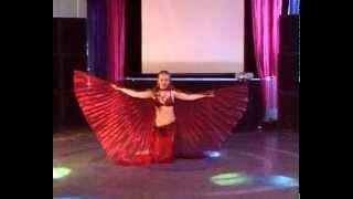 """Видео портфолио Эсфира. Танец с крыльями.""""TV SHANS"""""""