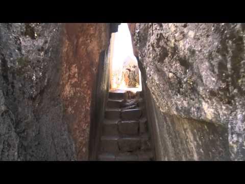 Tunnel Of The Goddess Temple Near Cuzco Peru