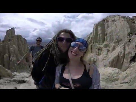 TRAVEL MONKEYS BOLIVIA LA PAZ, VALLEY OF THE MOON