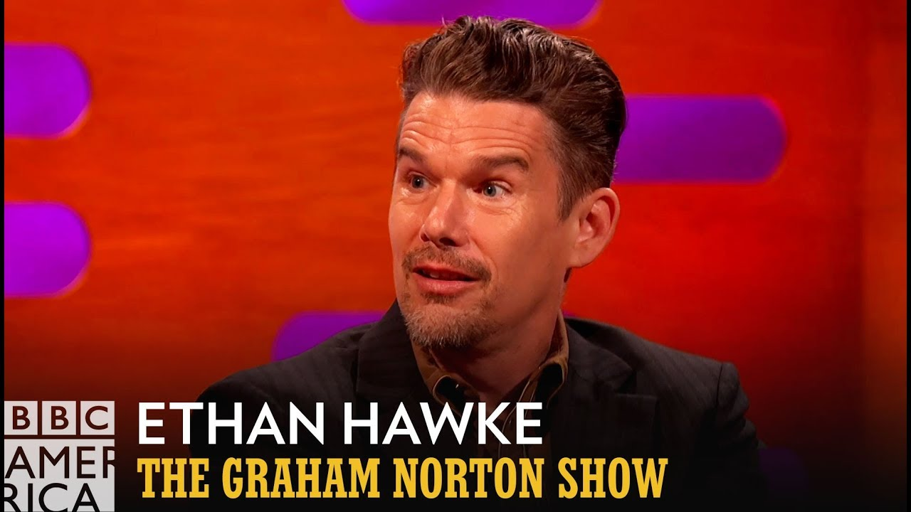 Ethan Hawke's Co-Star Died And Came Back To Life On Stage - The Graham Norton Show