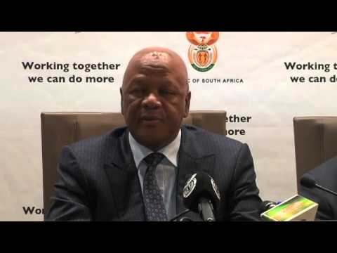 Minister Jeff Radebe releases Medium-Term Strategic Framework 2014-2019