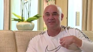 Djokovic, Graf, Roland-Garros... André Agassi s'est confié pour Francetvsport