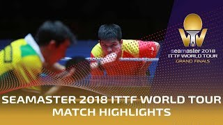 Hugo Calderano vs Fan Zhendong | 2018 ITTF World Tour Grand Finals Highlights (1/4)