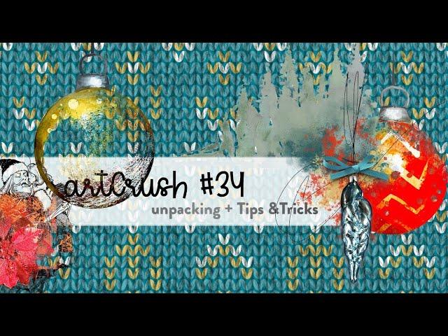 Unpacking artCrush #34