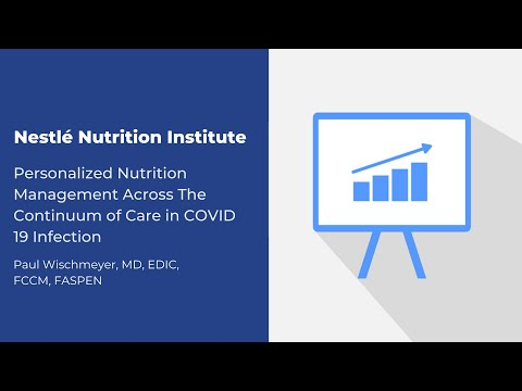 Personalized Nutrition Management Across The Continuum of Care in COVID 19 Infection