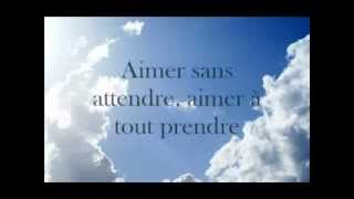 Florent Pagny ~ Apprendre à Aimer ~ Lyrics YouTube Videos