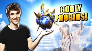 Grubby Godly Probius | Proḃius Gameplay w/ Grubby - Heroes of the Storm 2021 Gameplay
