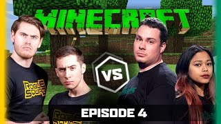 Ep 4 | Minecraft | Terroriser MCSportzHawk vs Moo Snuckel TheMissesMae | Legends of Gaming Season 2