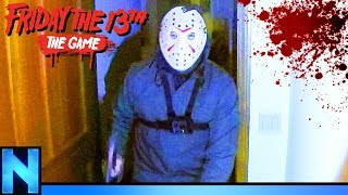 Running From Jason In REAL Friday the 13th Game!