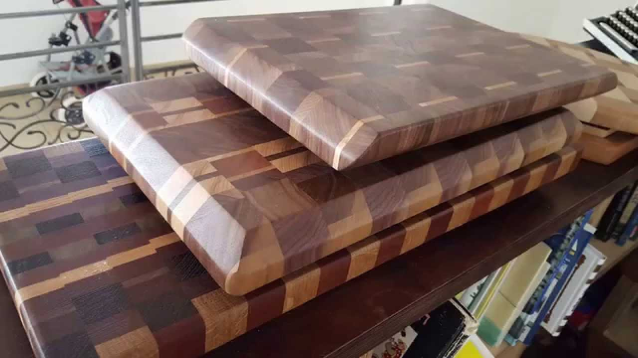 Making A Walnut End Grain Cutting Board