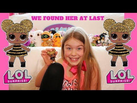 Brand New Toy Room and Lol Surprise Queen Bee!!!