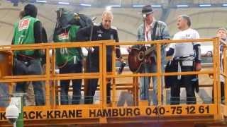 HSV - Bayer Leverkusen 34 Spieltag 18.05.2013 Lotto King Karl Hamburg meine Perle