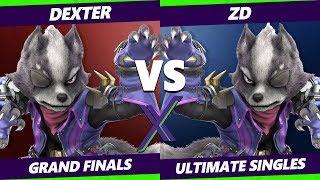 Smash Ultimate Tournament - Dexter (Wolf) Vs. ZD (Wolf, Fox, PKMN Trainer) S@X 316 SSBU Grand Finals