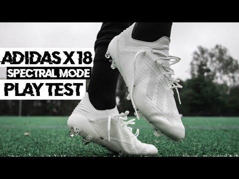 Bester Schuh für schnelle Spieler? ● adidas X 18.1 Spectral Mode Pack Test