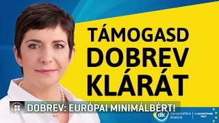 Dobrev Klára: Európai minimálbért! 19-05-22
