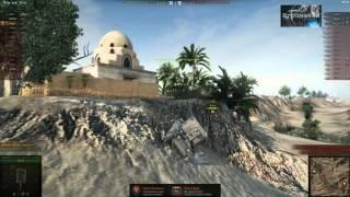 Bishop застрял  World of Tanks