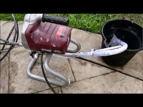 How to repair Harbor Freight Krause & Becker Paint Sprayer System. Failed to prime and spray.