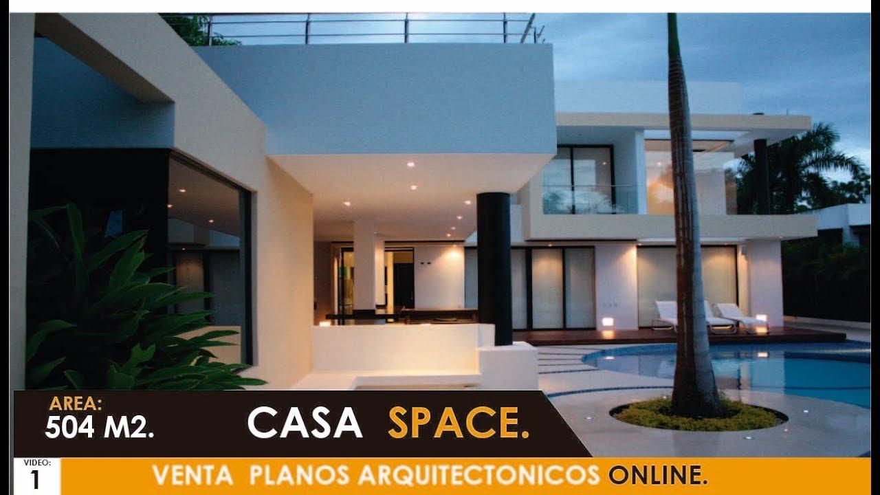 Presentacion 2018 casa moderna de lujo space youtube for Casa moderna 64