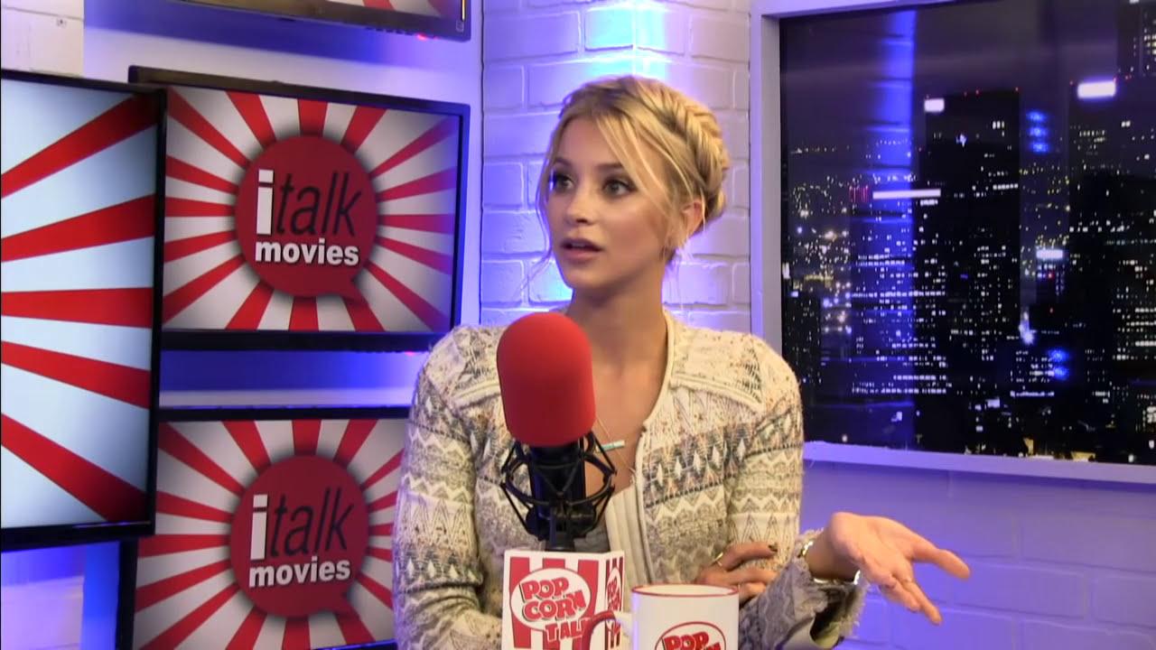 Sabina Gadecki talks about Entourage on iTalk Movies - YouTube
