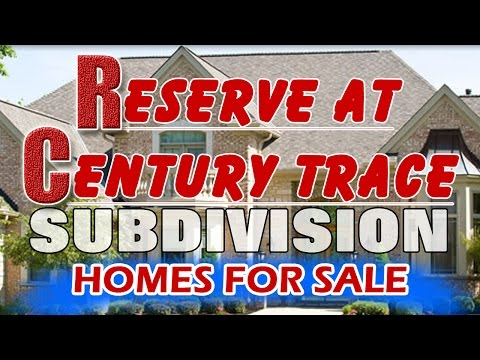 Reserve At Century Trace House For Sale Near Clifford Crone Middle School