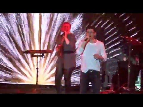 Festhalle Frankfurt A-HA 24-04-2016 Encore The sun always shine on T.V.