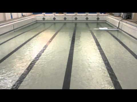 FILLING The New YMCA POOL