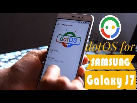 Dot os 7 1 2 Latest Rom For Samsung j7 based on los Droid On
