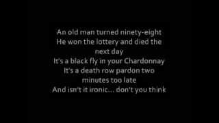 Alanis Morissette - Ironic Lyrics