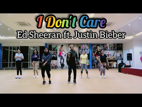 Ed Sheeran  Justin Bieber – I Don't Care  ZUMBA  FITNESS  DANCE  At Global Sport Balikpapan